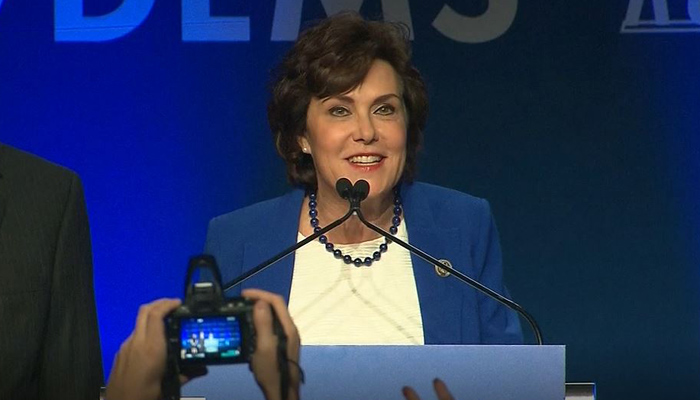 Democrat Jacky Rosen has been elected to the Senate from Nevada, defeating Dean Heller.