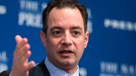 Reince Priebus - The former chief of staff was ousted July 28, 2017, by President Trump, who announced the change via Twitter while aboard Air Force One. Priebus was replaced by then-Department of Homeland Security chief John Kelly. He is shown in this file photo as RNC chairman. (AP Photo)