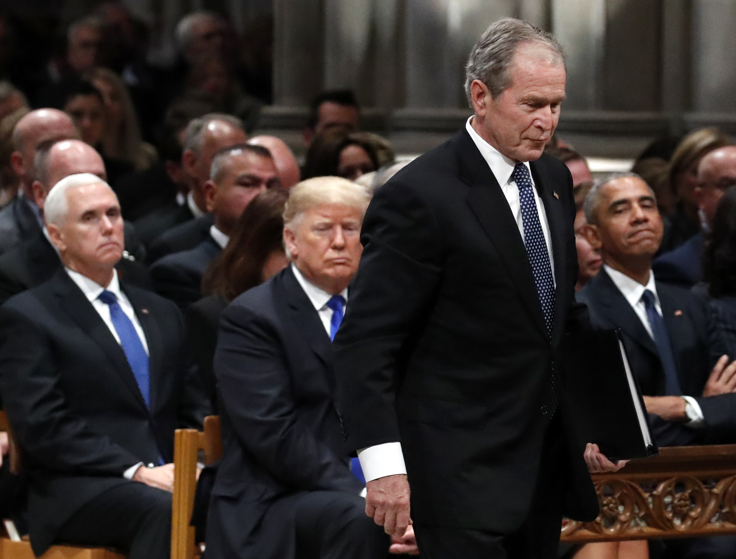 Bush, president and patriarch, is home for Texas burial ...
