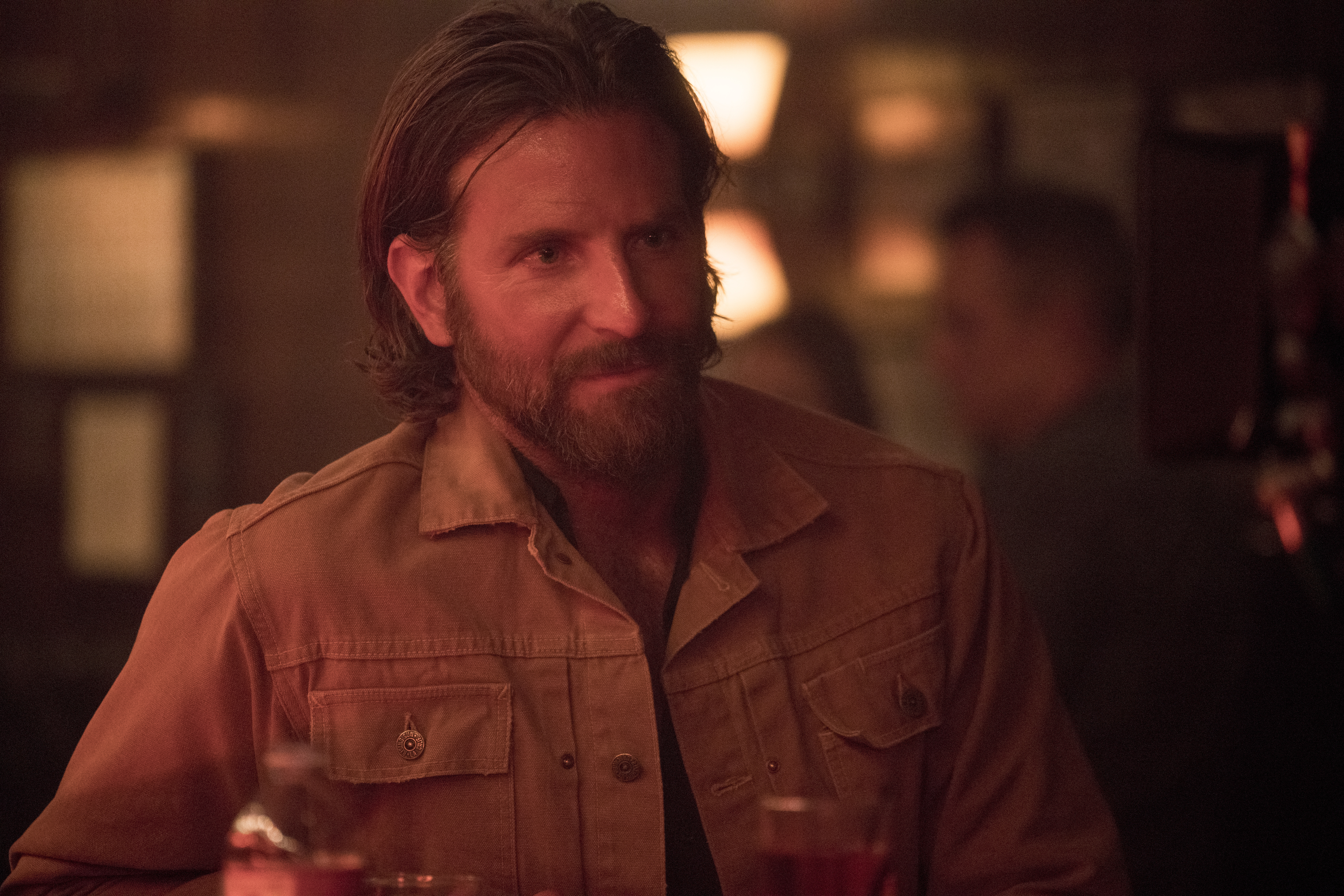 This image released by Warner Bros. shows Bradley Cooper in a scene from the latest reboot of the film,
