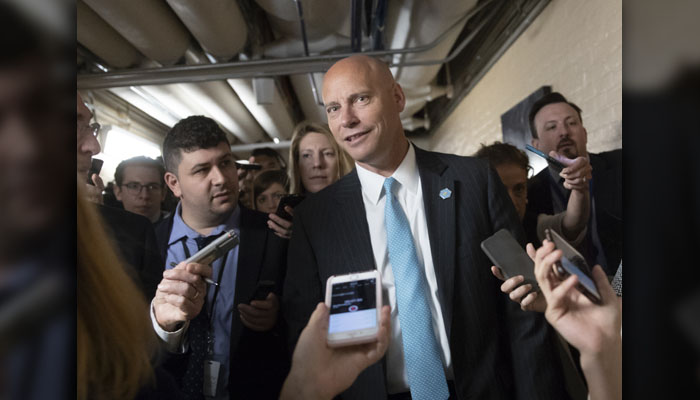 Marc Short – The legislative affairs director left in July, took a position at Guidepost Strategies and is teaching at the University of Virginia's business school. He is shown in this file photo on, June 7. (AP Photo/J. Scott Applewhite)