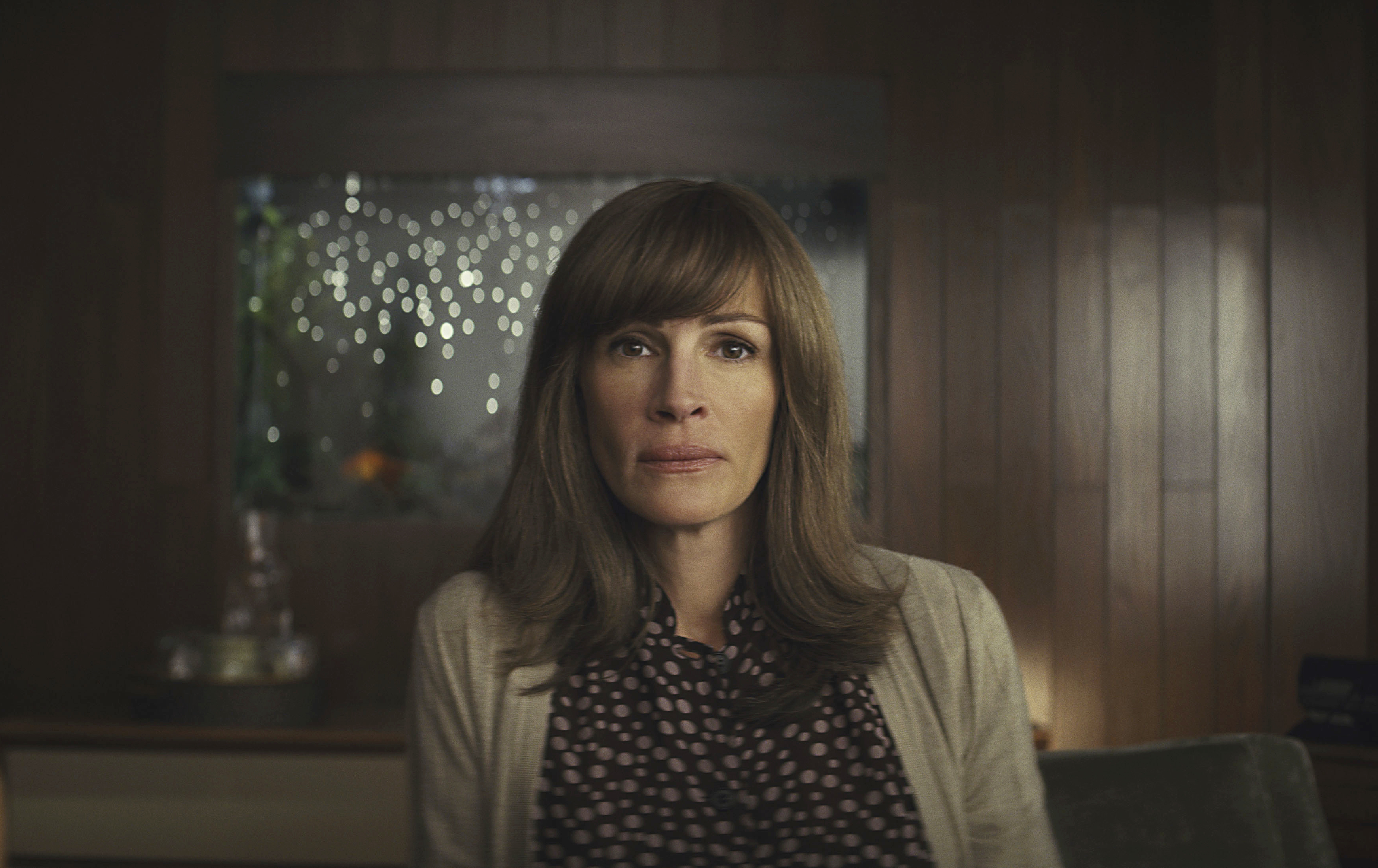 This image released by Amazon shows Julia Roberts in a scene from