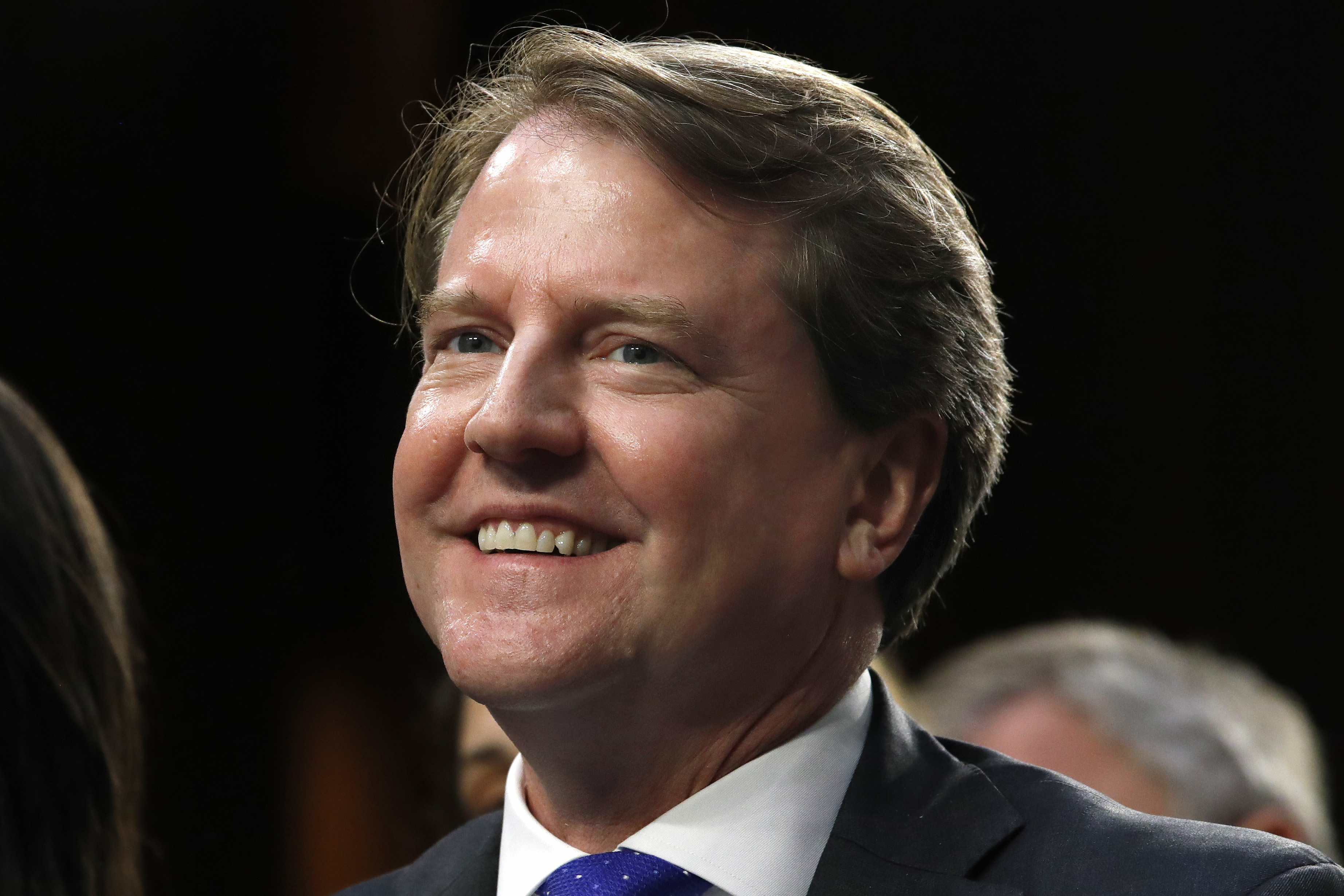 Don McGahn departed as the White House counsel in October. Shown at a confirmation hearing for Supreme Court nominee Brett Kavanaugh with the Senate Judiciary Committee on Capitol Hill on Sept. 4, 2018, in Washington, McGahn spearheaded the nomination of both Kavanaugh and Neil Gorsuch, the two newest members of the U.S. Supreme Court. (AP Photo/Jacquelyn Martin)