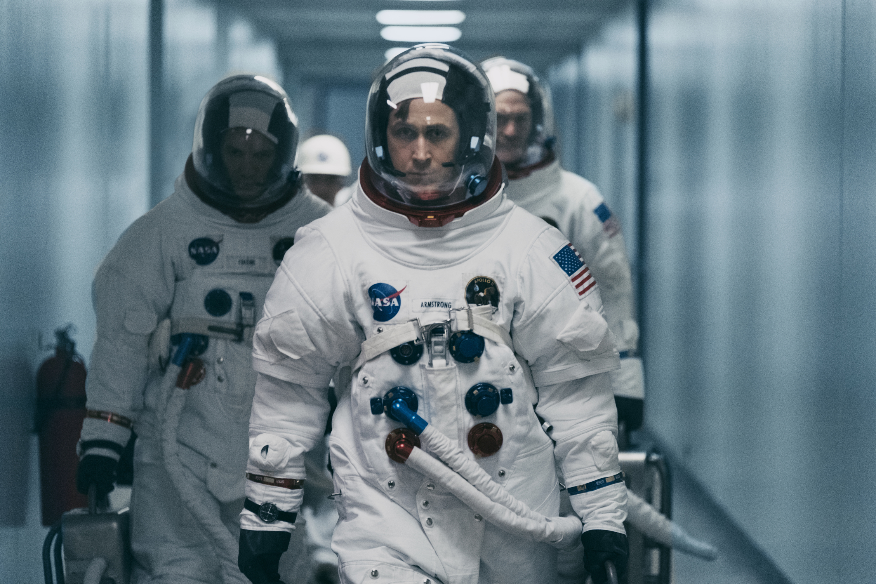 This image released by Universal Pictures shows Ryan Gosling in a scene from
